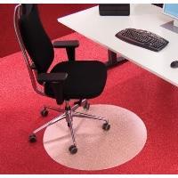 Podložka pod židli BSM R průměr 60cm na koberce