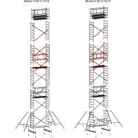 Pojízdé hliníkové lešení FAVORIT - modul E