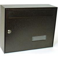 Poštovní schránka DIN tmavě hnědá