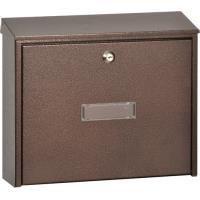 Poštovní schránka hnědá