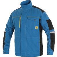 Pracovní bunda CXS STRETCH středně modrá-černá, vel. 58