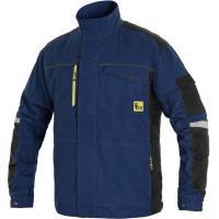 Pracovní bunda CXS STRETCH tmavě modrá-černá, vel. 58