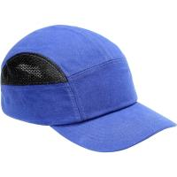 Pracovní čepice s kšiltem SM923 středně modrá