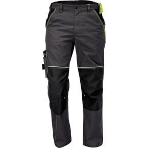 Pracovní kalhoty Červa KNOXFIELD antracit žlutá 3e6ae6e69b
