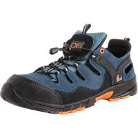 Pracovní obuv ISLAND CABRERA S1 sandál černo-modrý vel. 45
