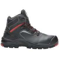0404e453000 Pracovní obuv kotníková HOBART S3 černo-červená