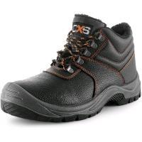 Pracovní obuv zimní kotníková STONE APATIT WINTER O2 černá, vel. 36