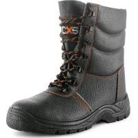 Pracovní obuv zimní poloholeňová STONE TOPAZ S3 černá, vel. 45