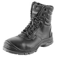 Pracovní obuv zimní Safety Steel WOLFRAM S3 poloholeňová, vel. 39-42, dále 46, 47