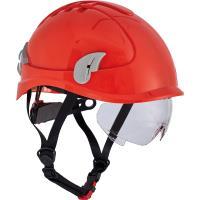 Pracovní ochranná přilba ALPINWORKER HV červená