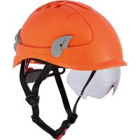 Pracovní ochranná přilba ALPINWORKER HV oranžová
