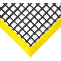 Průmyslová podlahová rohož COBA Workstation černo-žlutá 1 x 1,5m