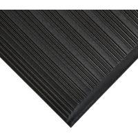 Průmyslová protiúnavová rohož COBA Orthomat Ribbed černá 0,9 x 18,3m