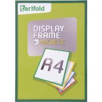 Rámeček Display Frame magnetický TARIFOLD A4 zelený