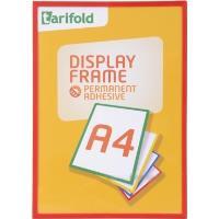 Rámeček Display Frame samolepící TARIFOLD A4 červený