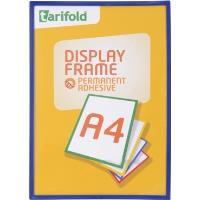 Rámeček Display Frame samolepící TARIFOLD A4 modrý