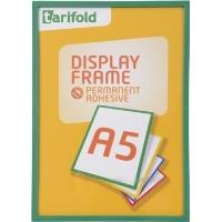 Rámeček Display Frame samolepící TARIFOLD A5 zelený