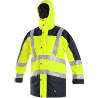 Reflexní bunda 3v1 LONDON žluto-modrá vel.XXXL