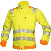 Reflexní bunda HI-WAY 4v1 žluto-modrá vel. XL