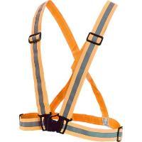 Reflexní kříž elastický, oranžový