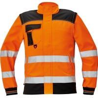 Reflexní pracovní bunda 2v1 Knoxfield HV oranžová vel. 46
