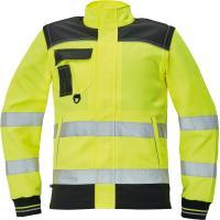 Reflexní pracovní bunda 2v1 Knoxfield HV žlutá vel. 46