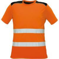 Reflexní tričko Cerva KNOXFIELD HV T-SHIRT oranžové, vel. 2XL