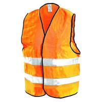 Reflexní výstražná vesta oranžová L/XL