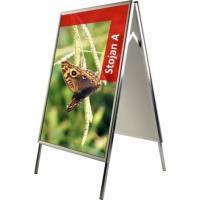 Reklamní stojan áčko KLASIK 2xA2 - ostré rohy