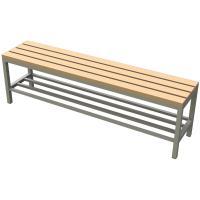 Šatní lavička K94 s roštem délka 2m