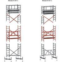 Skládací hliníkové lešení FAVORIT - modul C