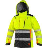 Softshellová bunda LEDUC dětská, červeno-oranžová, vel. 150