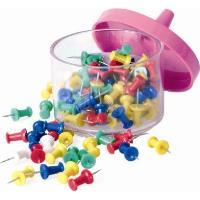 Špendlíky plastové barevné sada 100ks
