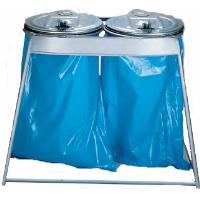 Stojan na odpadkové pytle 2x120l
