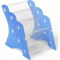 Stojan na tiskoviny MK3 stolní 3xA5 PP bílý