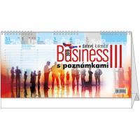 Stolní daňový kalendář - BUSINESS III. s poznámkami 2018