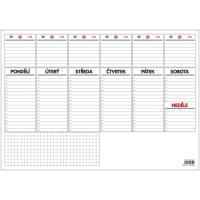 Stolní kalendář A3 plánovač 2018