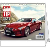 Stolní kalendář Auto TIP 2017