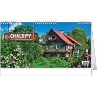 Stolní kalendář - Chalupy 2018
