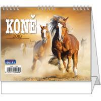Stolní kalendář IDEÁL Koně 2019