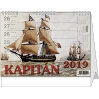 Stolní kalendář - Kapitán 2018