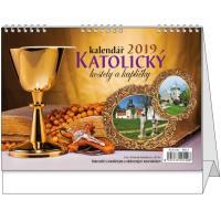 Stolní kalendář - Katolický 2018