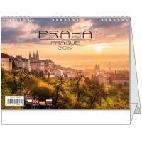 Stolní kalendář - Praha 2018