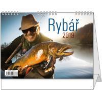 Stolní kalendář - Rybář 2018