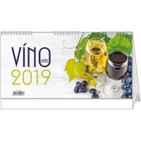 Stolní kalendář - Víno 2018