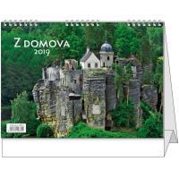 Stolní kalendář - Z domova 2018