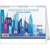 Stolní pracovní kalendář Pracovní 2017