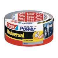 Textilní páska TESA Extra Power Universal, 25 m x 50 mm stříbrná