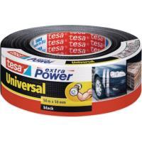 Textilní páska TESA Univerzální černá