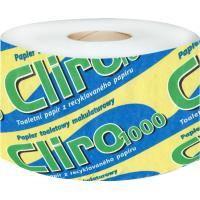 Toaletní papír dvouvrstvý CLIRO 1000 bílý